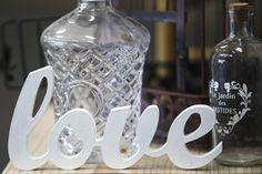 Chic Rustique Wedding Hire and Styling Products ~ www.chicrustique.com.au ~ Vintage Wine Decanter ~ Wooden Wedding Scripture ~ Antique Bottles ~