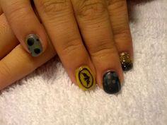 Gel nails batman style!