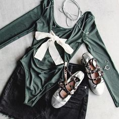 "Leotard trend is on ""Pointe""- Topshop Canada (@topshopcanada) on Instagram: ""St. Paddy's Day - we're ready for you. ✔️☘ #TopshopCanada"""