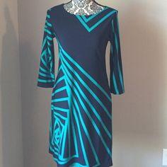 Haani 3/4 Sleeve Sheath Dress Size Small