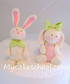 Video Tutorials-Gum Paste & Fondant>Bunnies