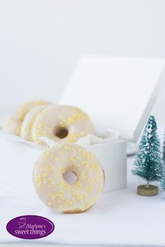 Zitrone Donuts - Lemon Donuts