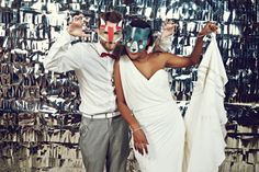 totally gonna have a photo booth at my wedding! so fun! >> Red Barcelona Wedding