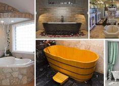 27 nápadov na najzaujímavejšie vane, v ktorých by ste chceli relaxovať Bathtub, Bathroom, Standing Bath, Washroom, Bathtubs, Bath Tube, Full Bath, Bath, Bathrooms