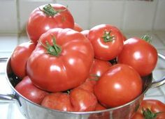 How To Use Fresh Tomatoes, Equivalents ETC.