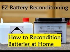 EZ Battery Reconditioning - How to Recondition Batteries at Home - YouTube