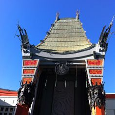 Chinese Theatre in Hollywood