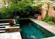 16 Marvelous Small Pool Design Ideas For Your Small Yard Pools For Small Yards, Small Swimming Pools, Swimming Pool Designs, Small Backyard Design, Small Backyard Landscaping, Backyard Designs, Backyard Ideas, Backyard Projects, Landscaping Ideas