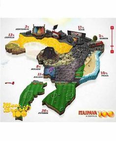 Vocês já viram o novo comercial da Itaipava, no qual um rapaz imagina o Brasil do jeito dele?  A marca lançou um app no Facebook para você criar o seu país perfeito!  Confiram é muito divertido! https://www.facebook.com/itaipavacerveja/app_468249066540016