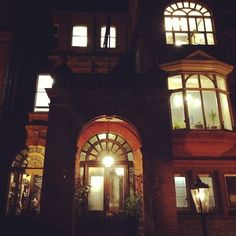 Palmers Lodge Swiss Cottage at Night Boutique Hostel  London UK  Photo by carolineroyce  #Palmers #Lodge #Swiss #Cottage #Night #Boutique #Hostel #London #UK #city #best #travel
