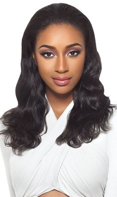 Outre Simply 100% Non-Processed HH Half Wig BRAZILIAN NATURAL WAVE ffc5f1aed6