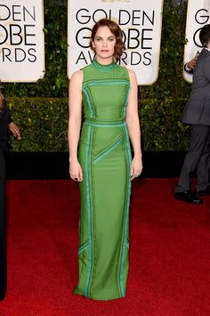 """Golden Globes Red Carpet 2015: All the Looks   StyleCasterRuth Wilson might be known on the English theater scene, but her role in new drama, """"The Affair,"""" got her a nomination for tonight's Golden Globes and has launched her onto the international red carpet circuit. Tonight's green gown was a vibrant option against her fair complexion. Photo: Getty   Read more: http://stylecaster.com/golden-globes-red-carpet-2015/#ixzz3SbewXnSu"""