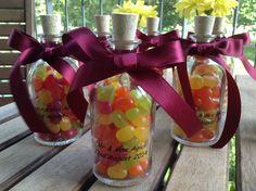 Personalised wedding favours Best Wedding Favors, Personalized Wedding Favors, Peach, Presents, Candy, Gifts, Food, Custom Wedding Favours, Sweet