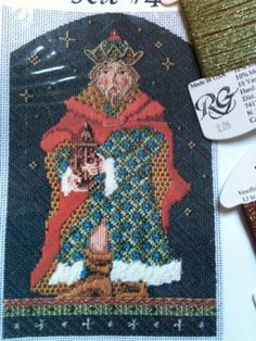 Canvas by Kelly Clark, stitch guide by Amy Bunger, and stitching by Stephanie.     Russian Magi               Arabian Magi               ...