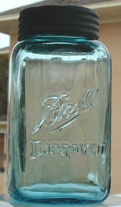 Square Ball Mason jar