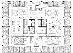 office flooring Contemporary Office : Coca Cola Executive Office By Nadine Viola At Coroflot Home ~ Glubdub Office Layout Plan, Office Floor Plan, Floor Plan Layout, Office Layouts, Office Ideas, Office Space Design, Office Interior Design, Office Interiors, Office Designs