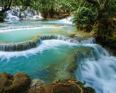 Crossing Vietnam and Laos Tour Package 10 Days organized by Smiletravel will bring you to visit most attractive places Hanoi, Halong Bay, Ho Chi Minh, Laos Amazing Destinations, Vacation Destinations, Dream Vacations, Vacation Spots, Luang Prabang, Circuit Voyage, Bangkok, Voyage Laos, Places To Travel