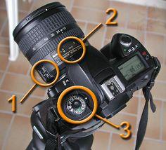 Camera Settings for capturing lightning.