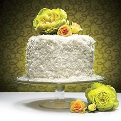The Coconut Chiffon Cake | MyRecipes.com