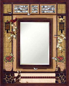 Hudson River Inlay Decor, Inlay, Wood Species, Malachite Stone, Wood Inlay, Stone Art, Craftsman Bungalows, Accent Decor, Mirror