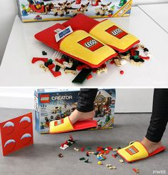 Stepping on a LEGO is extremely painful. Not anymore.