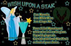Disney cocktail drinks