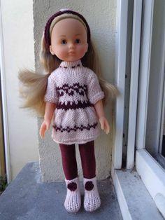 Vêtement robe et collants pour poupées les chéries de corolle ou poupées similaires de 30 à 35 cm : Jeux, jouets par vetements-de-poupee-corolle-de-afc33