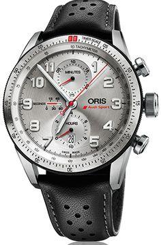 Oris Watch Audi Sport GT Chronograph Limited Edition #bezel-fixed…
