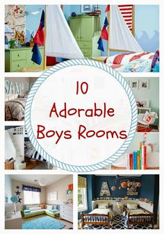 24 Cottonwood Lane: 10 Adorable Boys Rooms