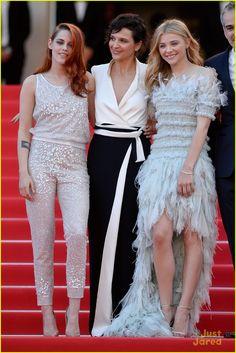 Kristen Stewart & Chloe Moretz Arrive for 'Clouds of Sils Maria' Cannes Premiere! | kristen stewart chloe moretz are chanel chic at cannes sils maria premiere 2014 01 - Photo