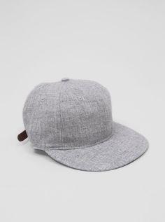 Ebbets Field Flannels Wool Cap (Grey)