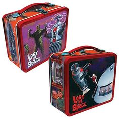 Lost in Space Retro Lunch Box
