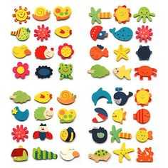 Christmas Series DIY Resin Jewelry Accessories Fridge Sticker Ring 16 pcs without magnet