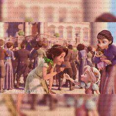 WAIT is that supposed to be Anna and Elsa!!