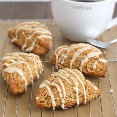 Gingerbread Scones with Maple Glaze by Tracey's Culinary Adventures, via Flickr