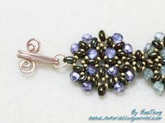 Clarissa: Twin Bead Bracelet Tutorial = I just love these twin beads....