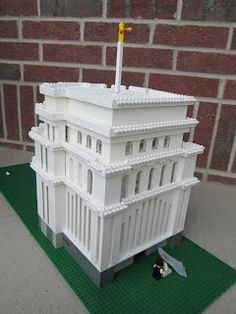 Build In Holy Places- Temples made of Lego