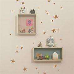 Décoration murale Mini Stars - cuivre - Ferm Living
