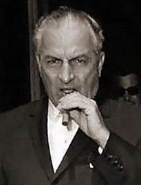 Carlos Marcello, mafia capo in New Orleans who confessed in jail that he'd ordered the JFK hit. Connected to Trafficante in Tampa, Giancana in Chicago, Lucchese and Bonanos in NY. All employed Johnny Roselli as point man in their association with the CIA against Castro's Cuba. www.lberger.ca