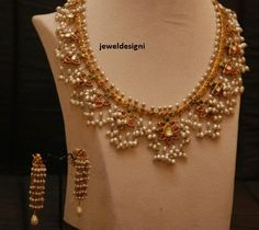 Pearl Jewellery Designs | pearl+necklace,+designer+necklace.jpg