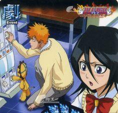 Kon, Ichigo and Rukia