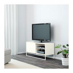HAGGE TV-Bank, weiß weiß 100x40 cm