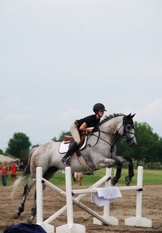 Not the best form...horse is perfect