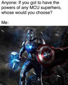credits marvel_dc_p # spiderman Marvel Avengers, Captain Marvel, Marvel Vs Dc Comics, Captain America, Marvel Art, Marvel Memes, First Superhero, Iron Man Art, Iron Men