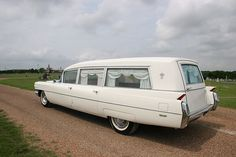 the JFK hearse