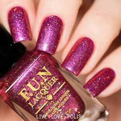 Swatch of Fun Lacquer Treasure Me Tulips (Spring 2016 Collection)