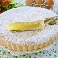 Tarte à La Crème Au Citron Thermomix - Page 2 sur 3 - Tasties Foods Food Cakes, Cupcake Cakes, Sweet Recipes, Cake Recipes, Dessert Recipes, Biscotti, Crostata Recipe, Cookie Desserts, Cake Cookies