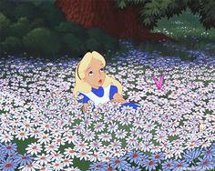 alice in wonderland, disney, and gif image Disney Pixar, Disney E Dreamworks, Art Disney, Disney Love, Disney Characters, Disney Ideas, Disney Stuff, Theme Animation, Tom Und Jerry