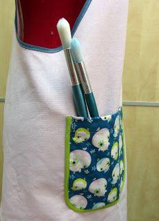 Tutorial de delantal japonés Lunch Box, Etsy, Fashion, Dresses, Japanese Apron, Retro Apron, Denim Aprons, Print Fabrics, Sewing Lessons