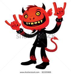heavy metal devil by john schwegel heavy metal heavy metal rock rh pinterest com Thrash Metal Band Logos Hard Rock Band Logos